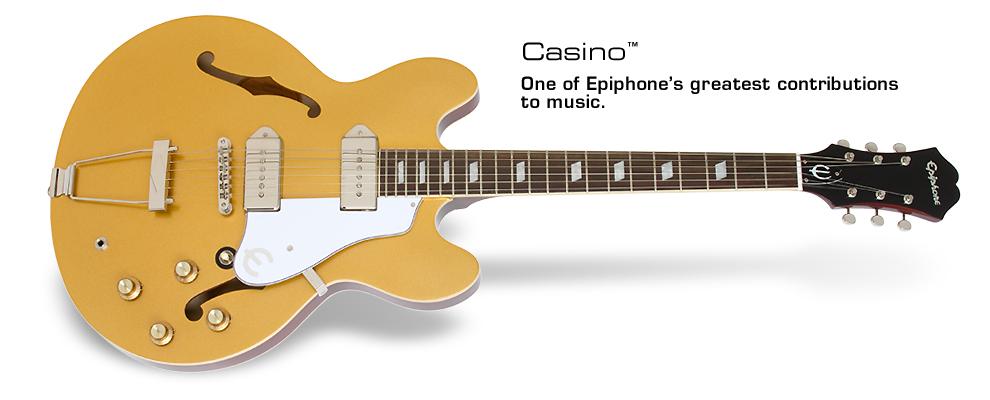 Epiphone casino or poker table casino cloth
