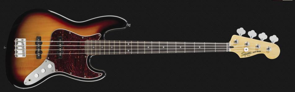 Fender Squier klassischer modifizierte 5 Saiten Jazz Bass