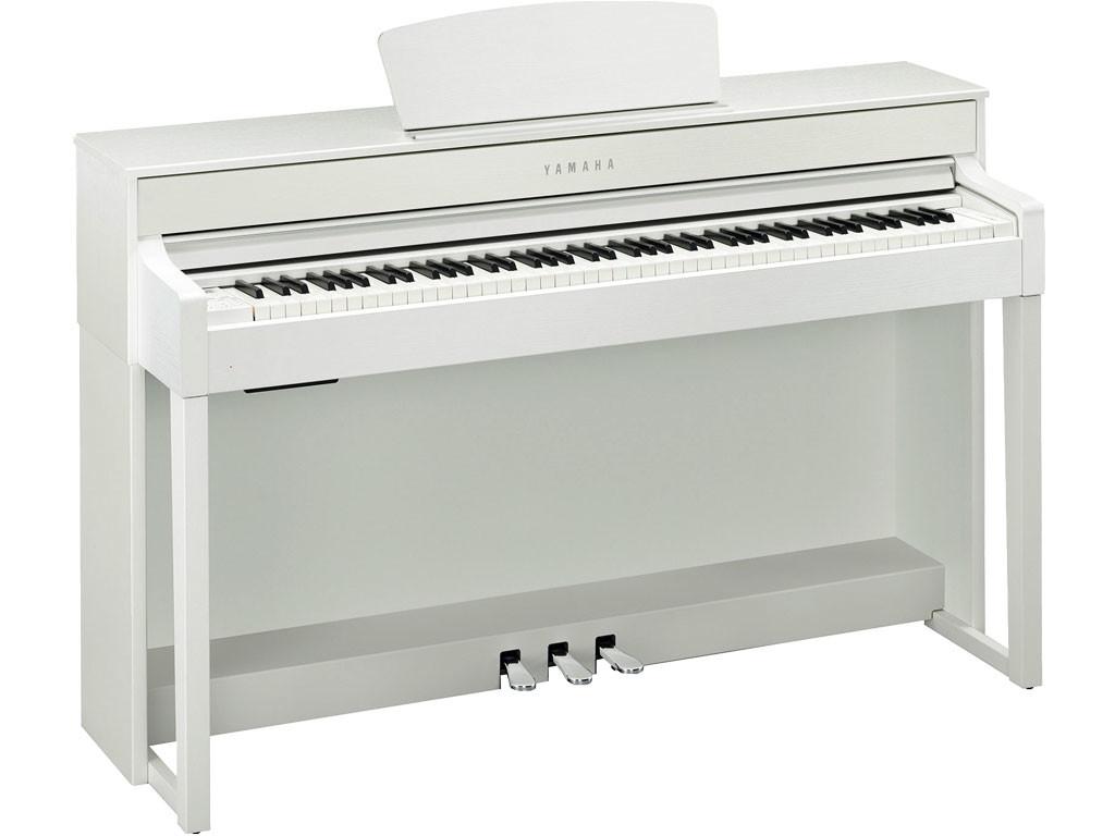 YAMAHA clavinova clp535 white